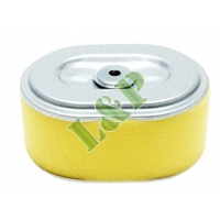Honda GX110 GX120 Air Filter Yellow Foam With Inside Mesh 17210-ZE0-820