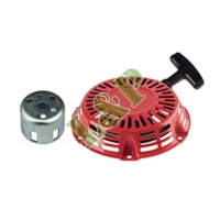 Honda GX120 GX140 GX160 GX200 Recoil Starter With Cup,Steel Rod Ratchet 28400-ZH8-013YA