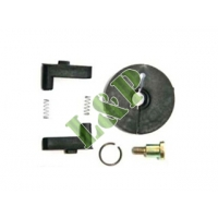 Honda GX120 GX160 GX200 Recoil Starter Repair Kit(With Plastic Ratchet) Black