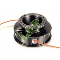 Universal Trimmer Head Easy Load Manual, Double Line Nylon Head Ø109MM Complete With Adaptor Bolt Ø2.4MM Nylon Line