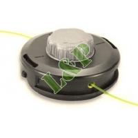Universal Trimmer Head Easy Load TAP-N-GO Ø130mm Aluminium Cap, Line Spool With Zink Plated Still Insert Extreme Wear Resistance